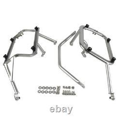 304 Stainless Steel Side Box Bracket Holder Mounting Frame For KTM 790ADV/R/EVO