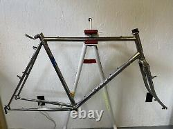 Chrome Ross Mt. Whitney mountain bicycle frame + fork Sz 23 in / Large