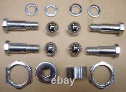 Chrome rocker bolt kit all components needed -mount rockers @ FXSTS 1988-2006