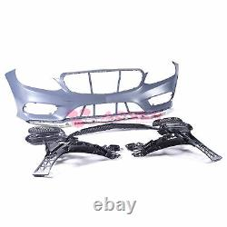 Front Bumper Cover Sport Style Kit For Mercedes-Benz E-Class 2014-2016 W212