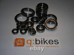 Ghost Mountain Bikes ASX, AMR, RT, Cagua, Kato Frame Pivot Bearings 2006-2015