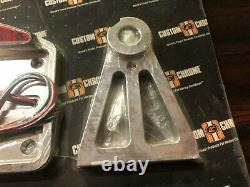 Harley-Davidson Softail Custom Chrome LED Side-Mount License Plate Frame 47-236
