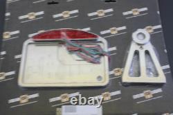 Harley-Davidson Softail Custom Chrome Side-Mount License Plate Frame NEW