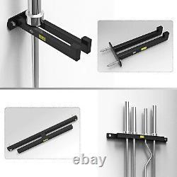 Home Gym Wall Mounted Hanging Barbell Bar Rod Storage Frame Rack Bracket Holder