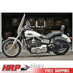 Jagg 750-1100 Harley-Davidson 6 Row Chrome Vertical Frame Mount Oil Cooler Syste