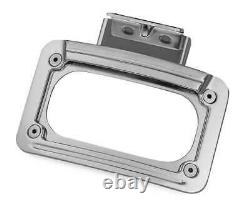 Kuryakyn 5699 LED Curved License Plate Frame, Mount 14-15 INDIAN (EXC SCOUT)