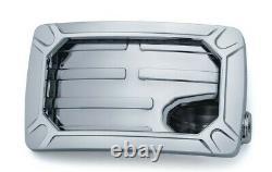 Kuryakyn Nova Side Mount License Plate Frames Chrome Horizon 3192