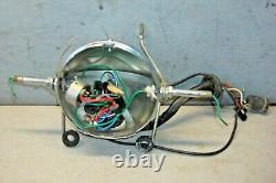 Lucas Head Light Lamp Bucket & Mounts Triumph Tr6 Bsa Oil In Frame Oif B50