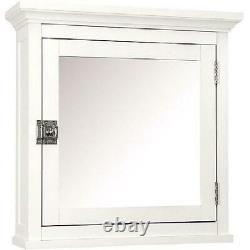 Medicine Cabinet Frames Surface Mirror Door Bathroom Wall Mount Adjustable Shelf