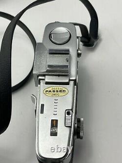 Olympus Pen FT Half Frame 35mm Film F Lens Mount SLR Camera Body Chrome + Case
