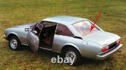 Parcel Shelf Cover Original Peugeot 504 Coupe Braun Rear Brown New