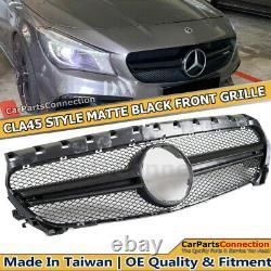 Pre-LCI Conversion to LCI CLA45 Style Bumper Cover PDC for Benz CLA250 +Grille
