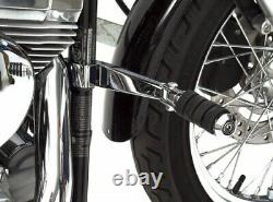 Rivco Products Frame Mount Highway Pegs 1-1/2in. Chrome HD004