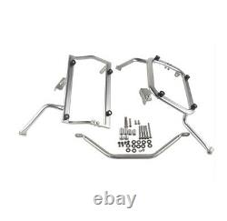 Stainless Steel Side Box Bracket Holder Mounting Fixing Frame For BMW G310R