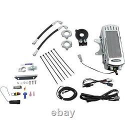 UltraCool SMS8-1C Frame Mounted Oil Cooler Kit Chrome