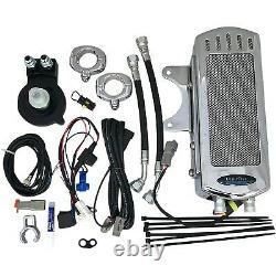 UltraCool SMSP-1C Frame Mount Oil Cooler Kit, Chrome Harley-Davidson Sportst