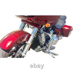 UltraCool SMT8-1C Frame Mount Oil Cooler Kit, Chrome Harley-Davidson Electra