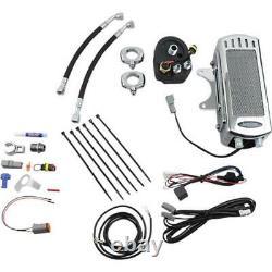 UltraCool SMT-1C Frame Mounted Oil Cooler Kit Chrome