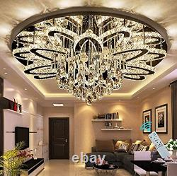 W32 Dimmable Chanderlier Remote Control Dimming Chandelier Light for Living LED